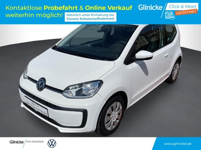 Volkswagen up! move 1.0 LED-Tagfahrlicht RDC Klima AUX USB Kom-paket ESP Seitenairb., Jahr 2016, Benzin