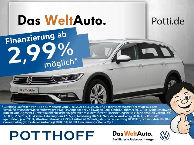 volkswagen passat variant dsg 2.0 tdi bmt 4m alltrack ahk acc, jahr 2018, diesel