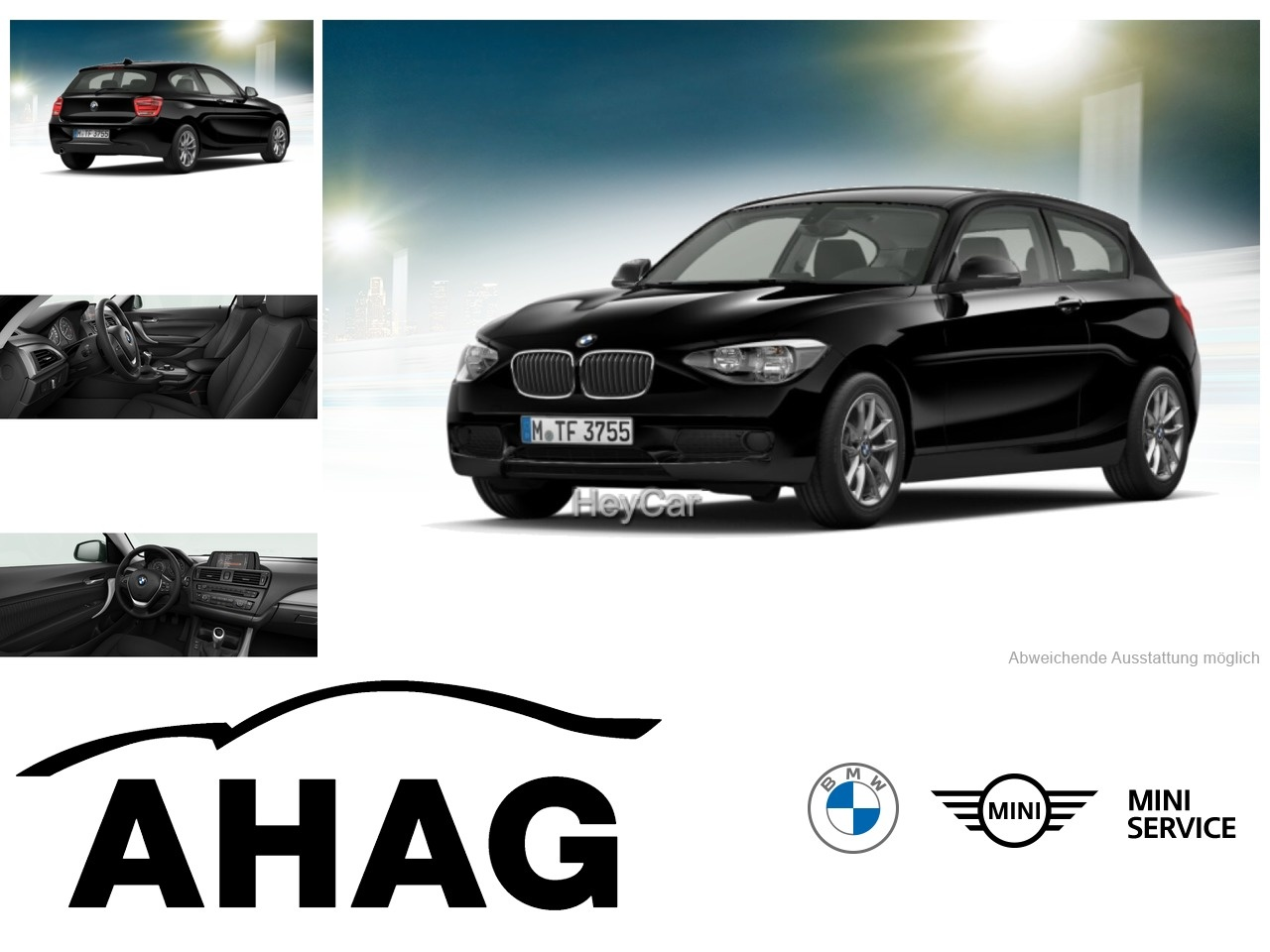 BMW 114i 3-Tuerer (Bluetooth Klima), Jahr 2015, Benzin
