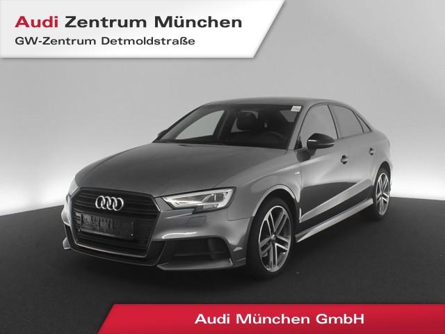 """Audi A3 Limousine 1.0 TFSI Design S line LED Navi Teilleder PDCplus 19"""" S tronic, Jahr 2018, petrol"""