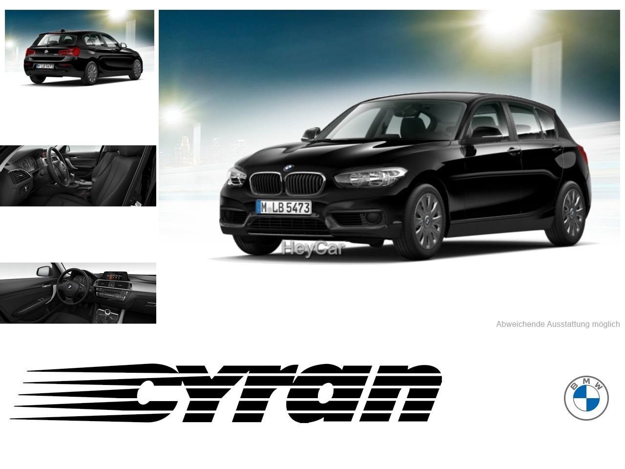BMW 116d Navi PDC Sitzhzg. Bluetooth EURO6, Jahr 2017, Diesel