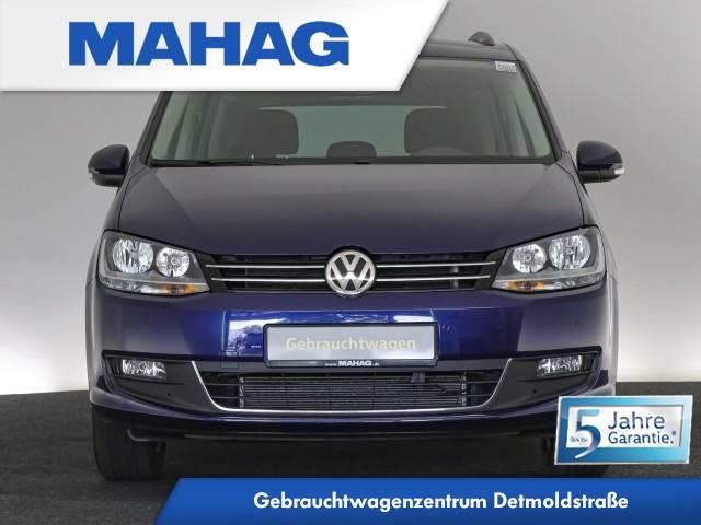 Volkswagen Sharan COMFORTLINE 1.4 TSI 7-Sitzer Navi ParkPilot Bluetooth DAB+ BlindSpot LaneAssist FrontAssist DSG, Jahr 2020, Benzin