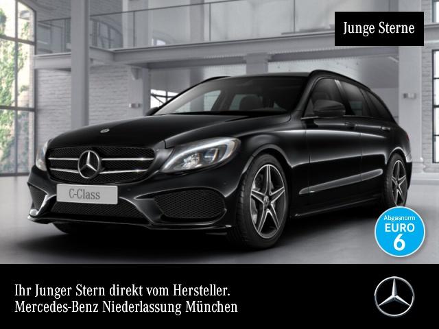 Mercedes-Benz C 220 d T AMG Pano LED Night Kamera Navi PTS 9G, Jahr 2017, Diesel