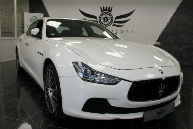 Maserati Ghibli V6 3.0 Biturbo*XEN*KLIMA*SHZ*BIANCOALPI*, Jahr 2016, Benzin