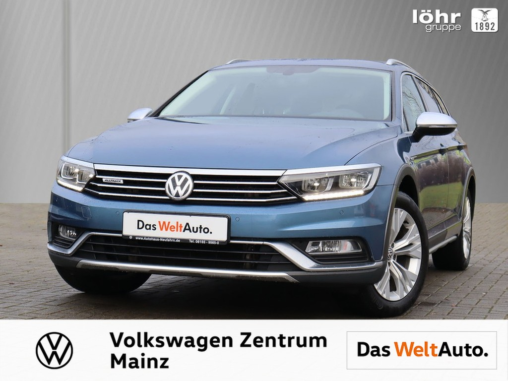 Volkswagen Passat Alltrack 2.0 TDI DSG 4Motion *LED, Jahr 2017, Diesel