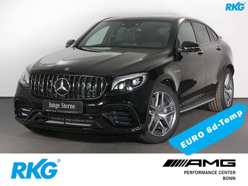 Mercedes-Benz GLC 63 AMG 4M+ Coupé Sitzklima*Drivers P.*Comand, Jahr 2018, petrol