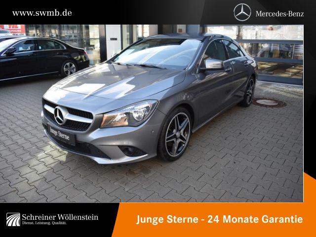 Mercedes-Benz CLA 200 *Urban*Navi*Parktronic*Sitzh.*Audio20CD*, Jahr 2013, petrol