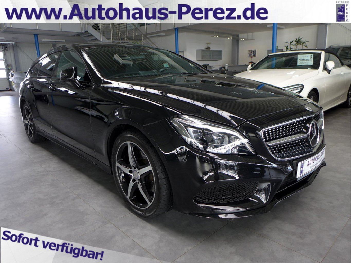 Mercedes-Benz CLS 250 Shooting Brake d 9-G AMG NIGHT-COMAND-SD, Jahr 2017, Diesel