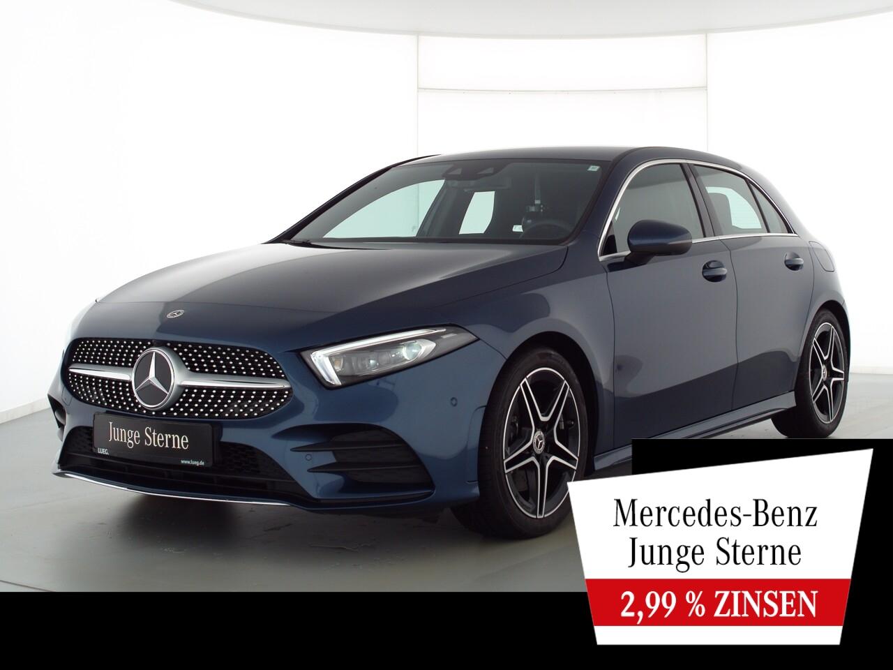 Mercedes-Benz A 220 d 4M AMG+MBUXHighEnd+Mbeam+Sound+Totw+360°, Jahr 2020, Diesel