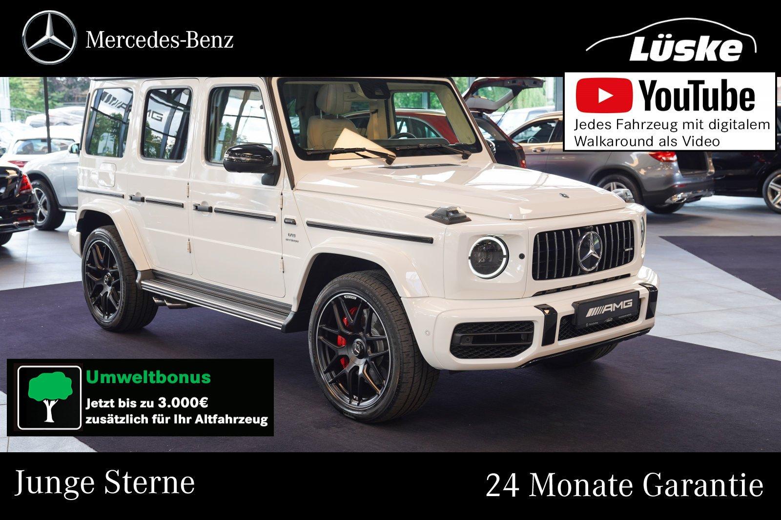 Mercedes-Benz G 63 AMG Exklusiv macchiato Night Schiebedach TV, Jahr 2019, Benzin