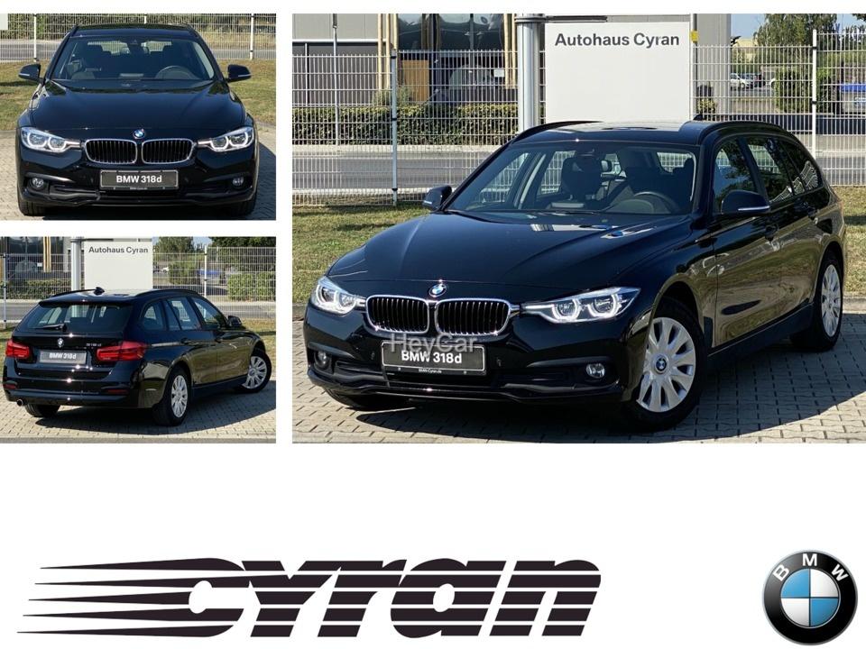 BMW 318d Touri.Navi LED Spurwechselwarnung Speed Lim, Jahr 2017, Diesel