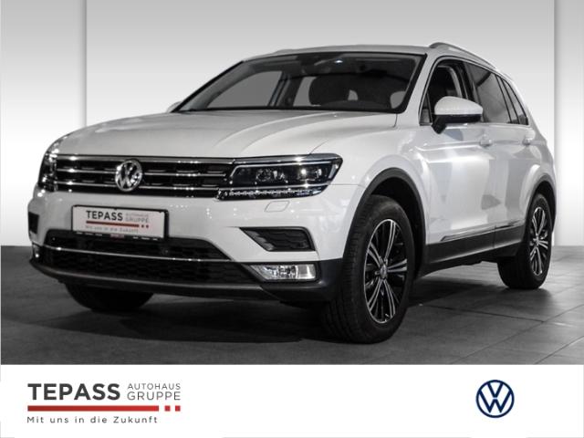 Volkswagen Tiguan 2.0 TSI DSG Highline 4 Motion NAVI+ACC+LED, Jahr 2016, Benzin