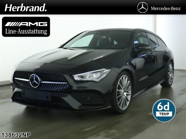 "Mercedes-Benz CLA 220 Shooting Brake AMG Line Night-Paket,19"", Jahr 2019, petrol"