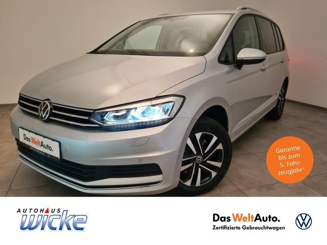 Volkswagen Touran 1.5 TSI United Navi R.Kamera 7-Sitzer, Jahr 2020, Benzin