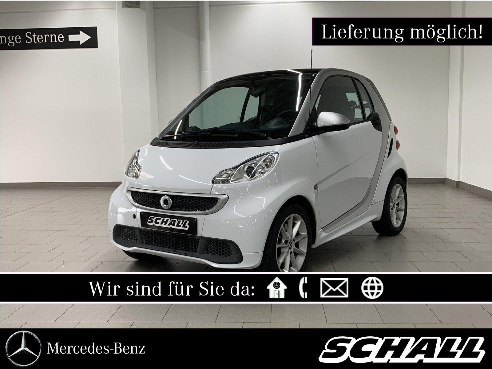 smart Smart Fortwo Coupe 5G-AUTOM/PANO/KLIMA/ALUFELGEN, Jahr 2014, Benzin