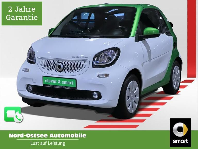smart fortwo passion LED Tempo Sitzhz Cool+Media, Jahr 2017, Elektro