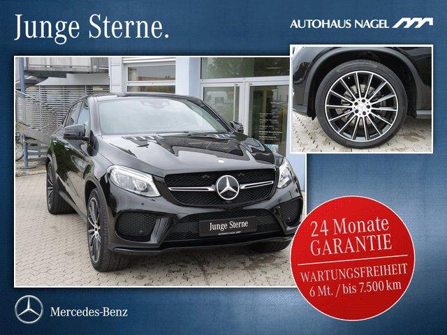 """Mercedes-Benz GLE 43 AMG 4M Coupé+Pano+ILS+22""""+AIRMATIC+360°+, Jahr 2016, petrol"""