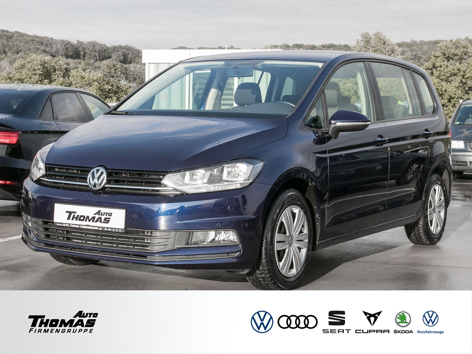 """Volkswagen Touran """"Trendline"""" 1.6 TDI DSG NAVI+PDC+AHK, Jahr 2017, diesel"""