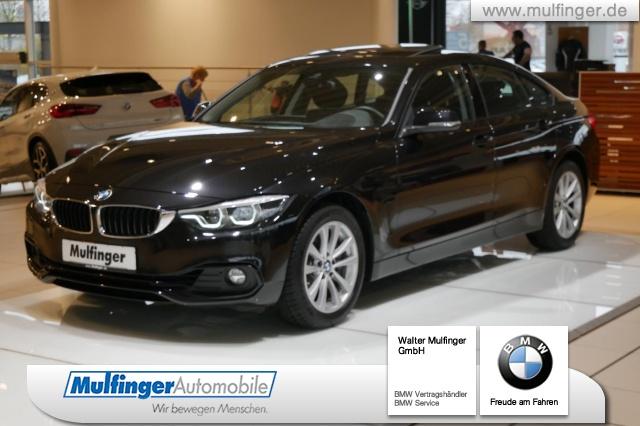 BMW 440i xDrive Gran Coupé SportLine GSD HiFi AHK HUD, Jahr 2019, petrol