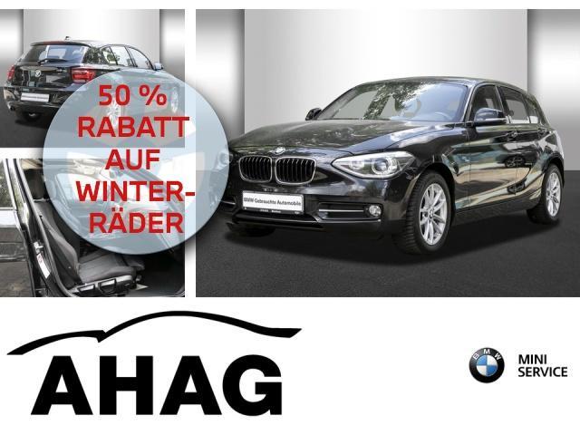 BMW 116d Sport Line Navi Prof. Klimaaut. Glasdach, Jahr 2013, Diesel