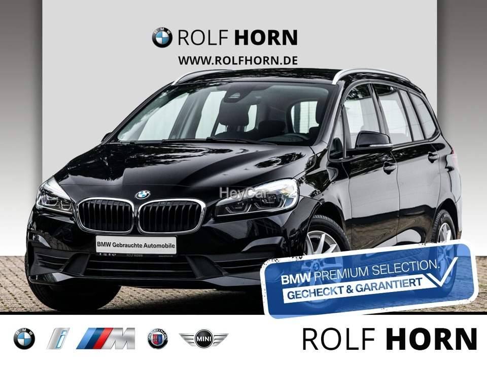 BMW 218 Gran Tourer Advantage Navi PDC LED SHZ, Jahr 2018, Benzin