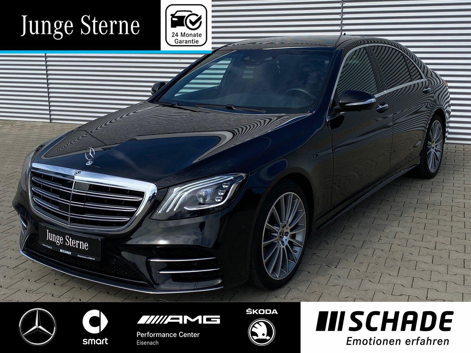 Mercedes-Benz S 400 d 4M Lang AMG Line Standhz*Distronic*Sound, Jahr 2018, Diesel