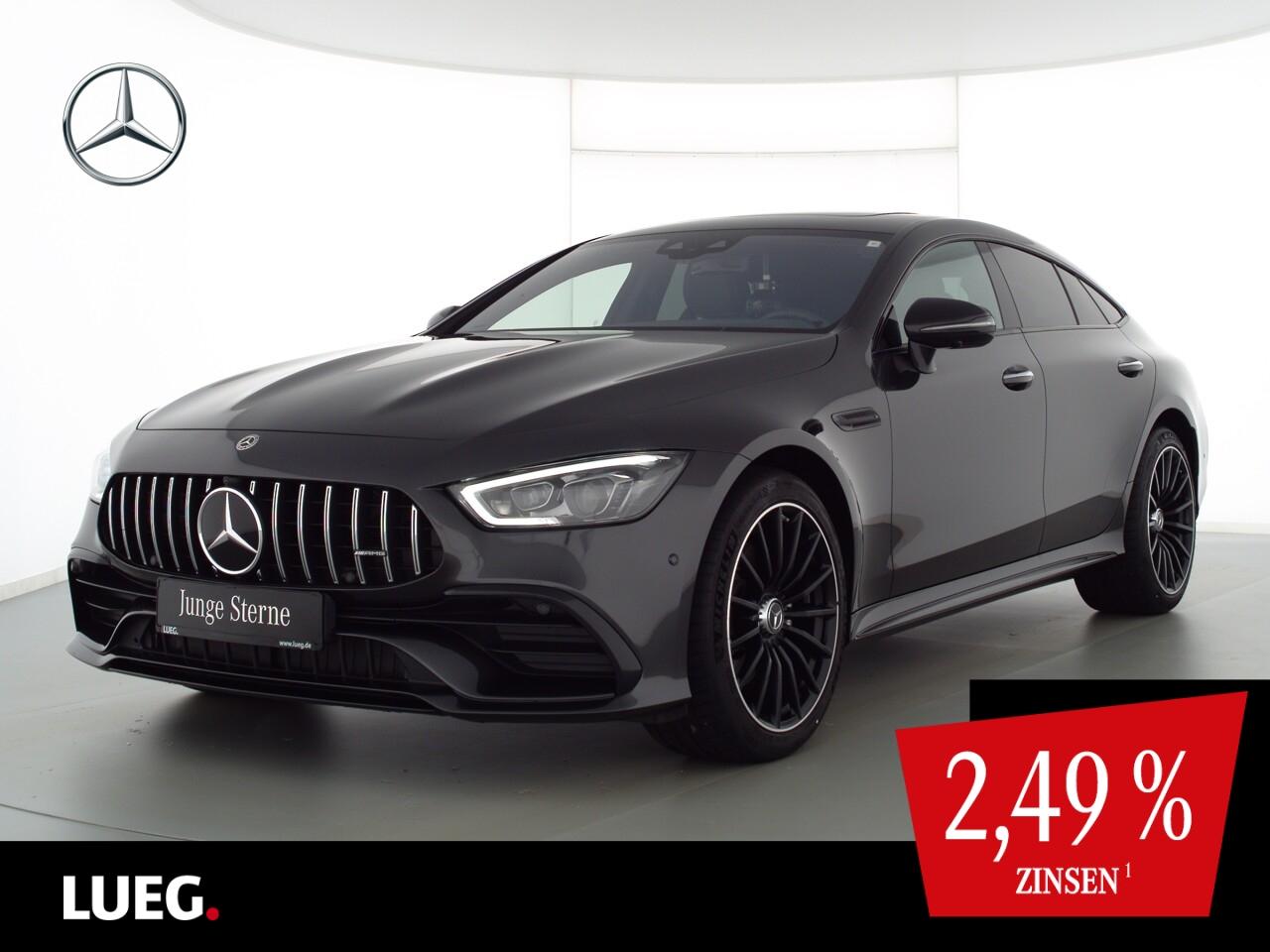 Mercedes-Benz AMG GT 53 4M+ COM+SHD+Burm+Mbeam+RIDE+Distr+360°, Jahr 2019, Benzin
