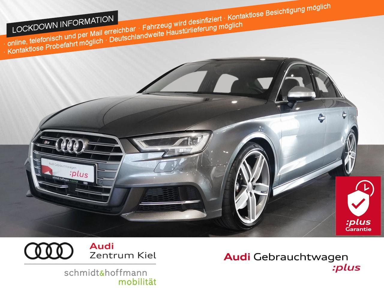 Audi S3 Limousine 2.0 TFSI Navi Panorama RFK ACC, Jahr 2018, Benzin