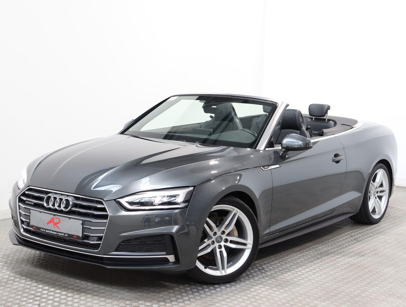 Audi A5 Cabrio 3.0 TDI qu 3x S LINE VIRTUAL,S-SITZE, Jahr 2017, Diesel