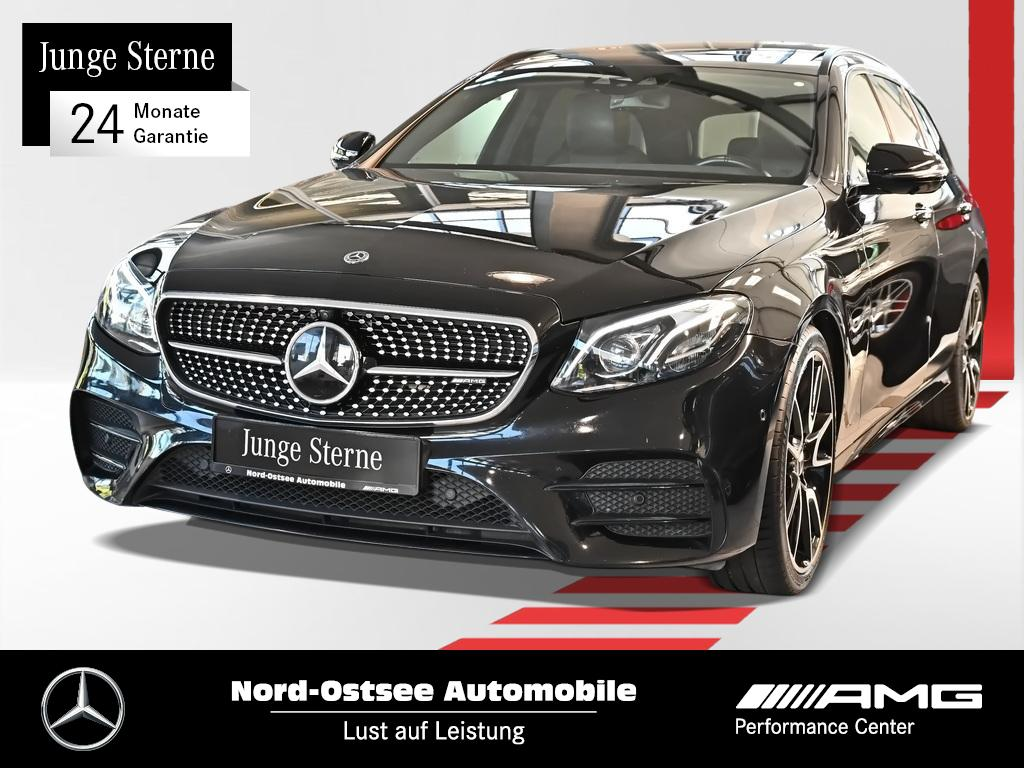 Mercedes-Benz AMG E 43 T 4M Multibeam Pano Night Burmester HUD, Jahr 2017, Benzin