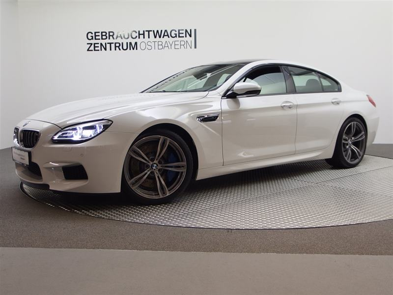 BMW M6 Gran Coupe HiFi h/k+RFK+SoftClose+Keyless++, Jahr 2016, petrol