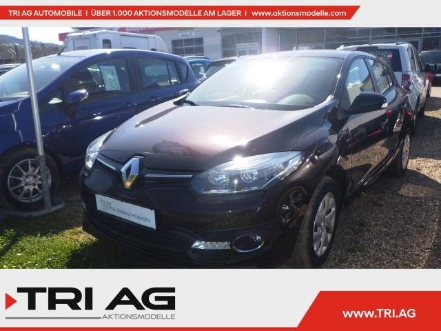 Renault Megane III Limited 1.6 Keyless LED-Tagfahrlicht RDC Klima Temp AUX, Jahr 2015, Benzin