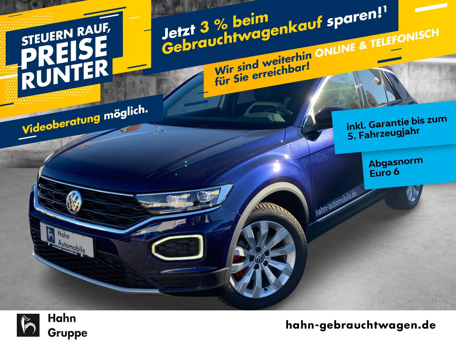 Volkswagen T-Roc Sport 1.5TSI ACC LED Standh Navi Sitzh PDC, Jahr 2019, Benzin