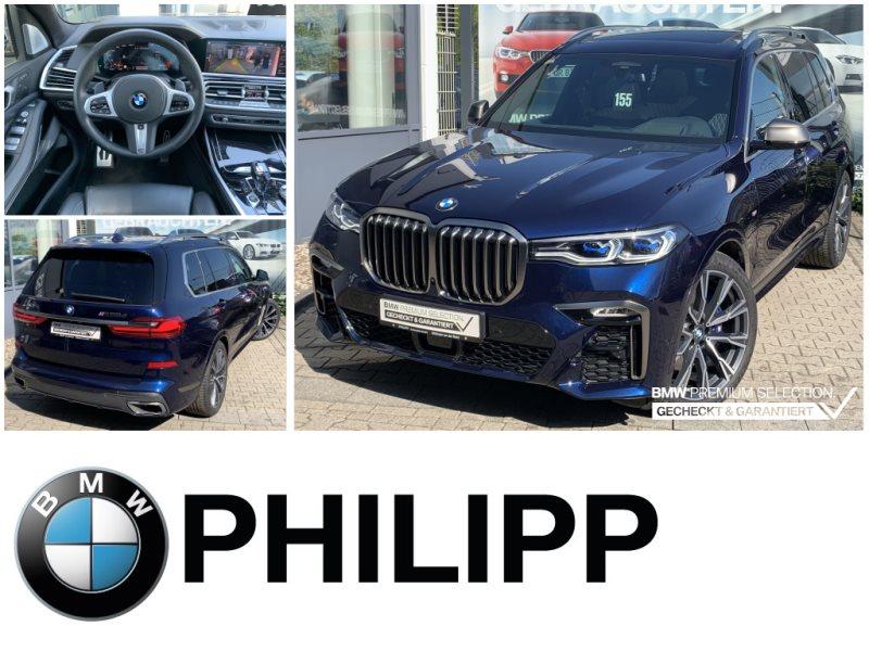 BMW X7 M50d Sky TV+ 6-Sitze Laser B&W AHK St.Hz., Jahr 2020, Diesel