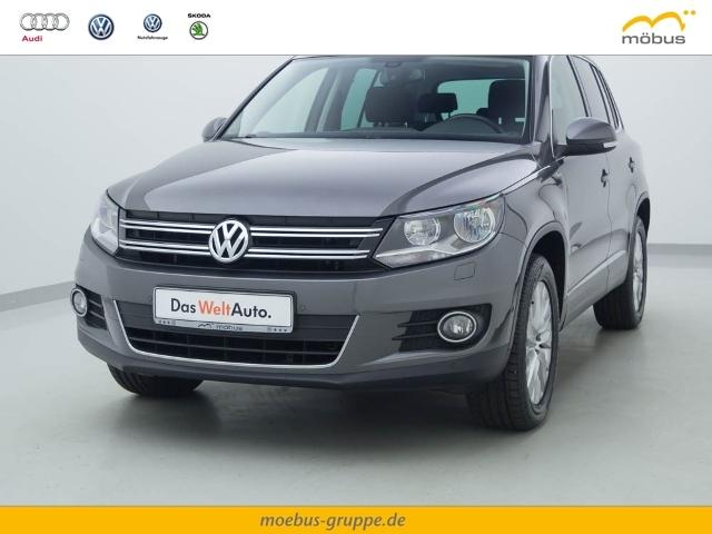 Volkswagen Tiguan 2.0 TSI DSG Life 4Motion Anhängevorrichtu, Jahr 2013, Benzin