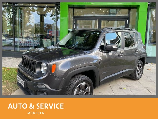 Jeep RENEGADE 2.0 TDI Allrad Tempomat SitzHzg PDC AHK, Jahr 2017, Diesel