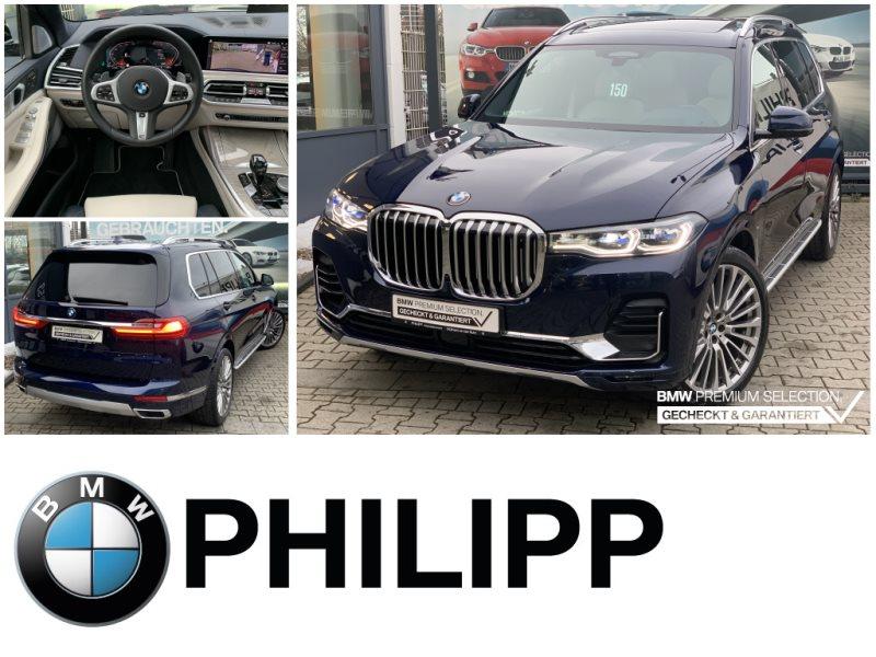 BMW X7 xDrive30d NightVision Laser TV+B&W St.Hzg Sky, Jahr 2020, Diesel