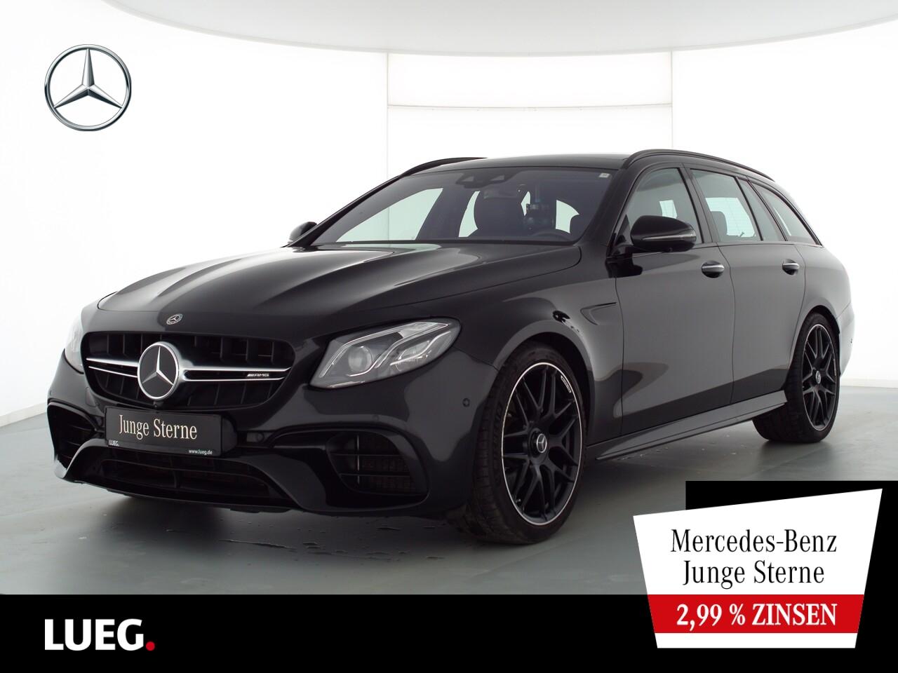 Mercedes-Benz E 63 AMG T 4M COM+Pano+Burm+Mbeam+Sitzkl+20''+36, Jahr 2018, Benzin