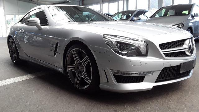 Mercedes-Benz SL 63 AMG *COMAND*Distronic*Rückfahrk.*Sitzklima, Jahr 2014, petrol