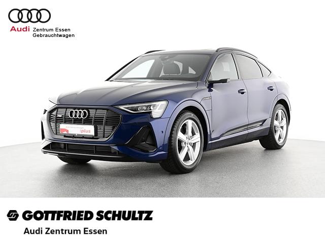 Audi e-tron Sportback 50 quattro S line LED NAV PLUS PANO RÜFAHR FSE MUFU, Jahr 2021, Elektro