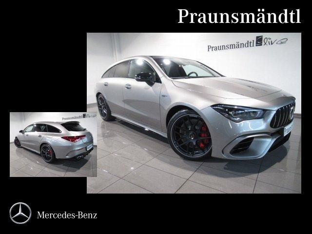 Mercedes-Benz CLA 45 S 4M SB Night/DISTR/Head-up/AHK/MULTIBEAM, Jahr 2020, Benzin