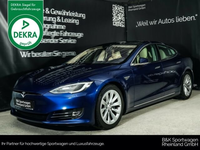 Tesla Model S 90D PREMIUM-INTERIEUR/NEXTGEN/PANO, Jahr 2016, Elektro