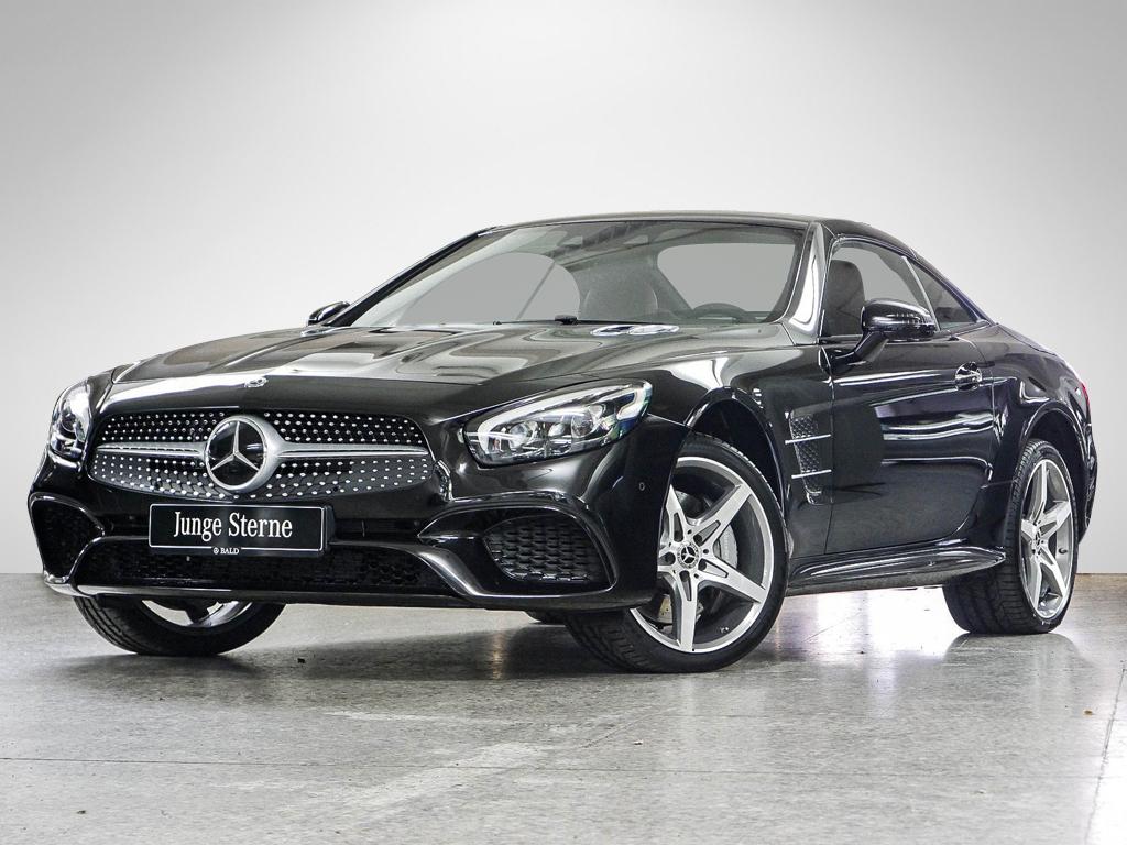 Mercedes-Benz SL 500 AMG-Sport/Comand/ILS/Cam/HK/Keyl/ABC/19', Jahr 2018, petrol