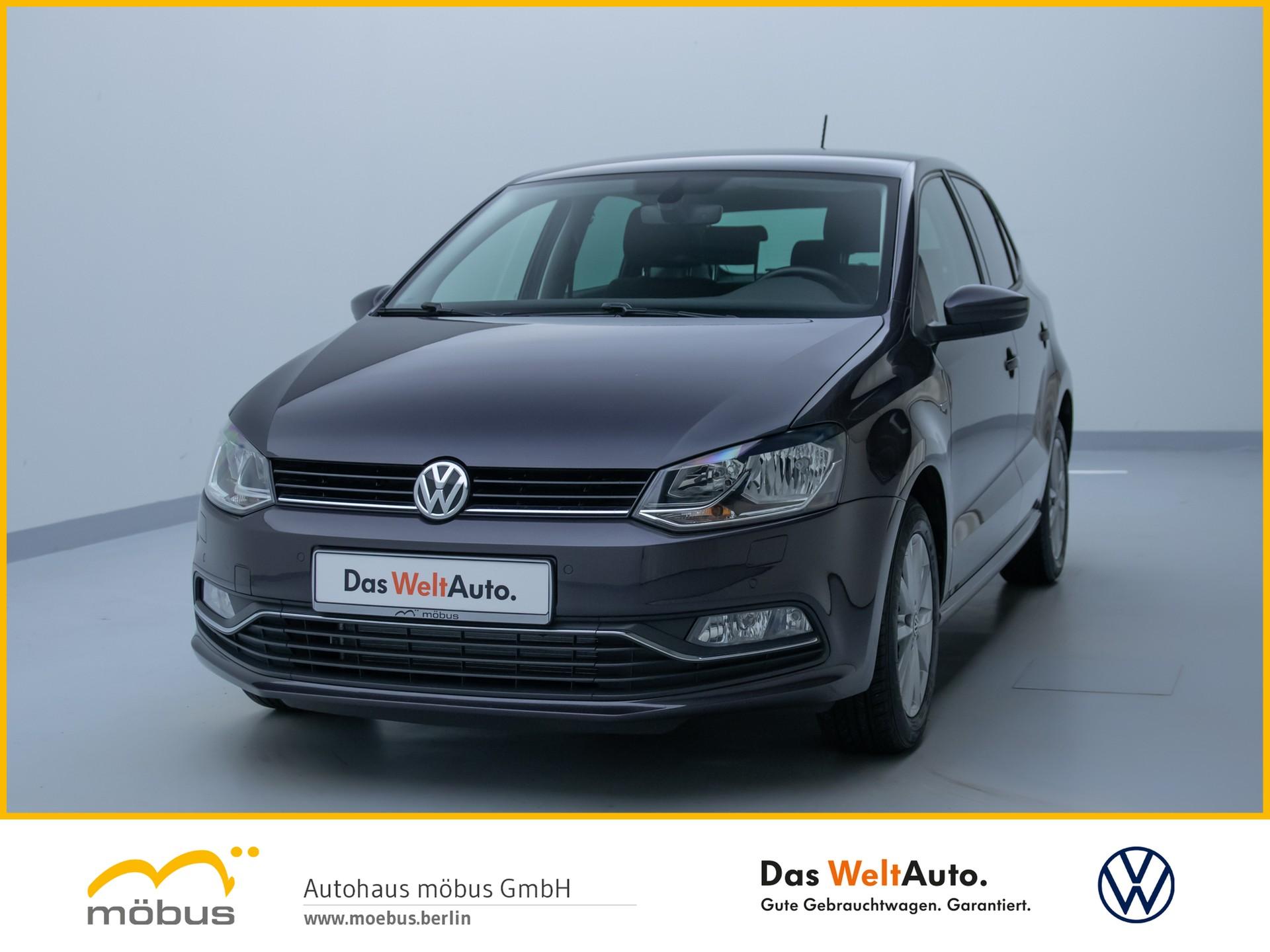 Volkswagen Polo 1.0 LOUNGE PDC+GRA+KLIMA+GANZJAHRESREIFEN+, Jahr 2015, Benzin