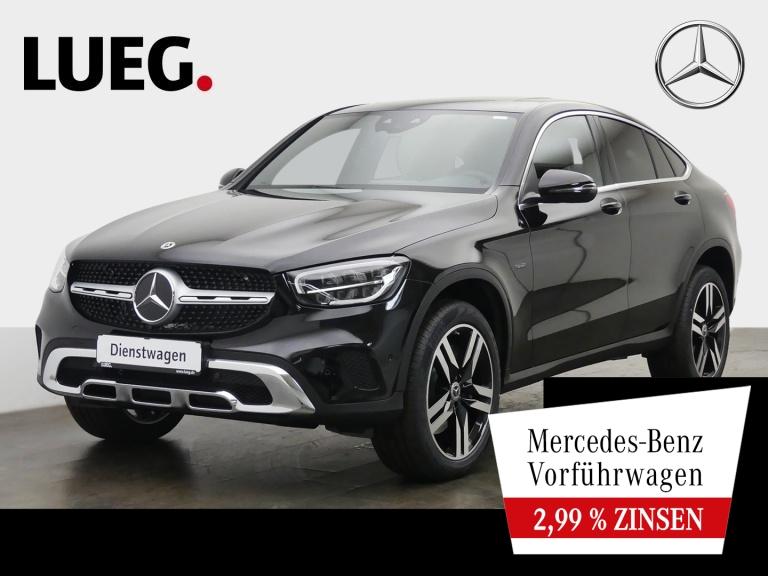 Mercedes-Benz GLC 300 e 4M Coupé EXCLUSIVE+20''+DISTRON+SD+AHK, Jahr 2020, Hybrid