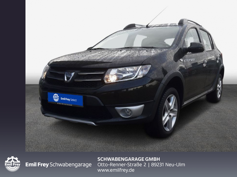 Dacia Sandero Stepway 90 Prestige*NAVI*TEMPOMAT*SHZ*, Jahr 2014, Benzin