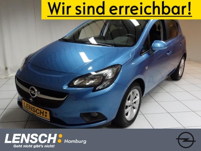 Opel Corsa E 1.4 5T ON GLASSCHIEBEDACH+PDC+RFK+SITZHZ, Jahr 2017, Benzin
