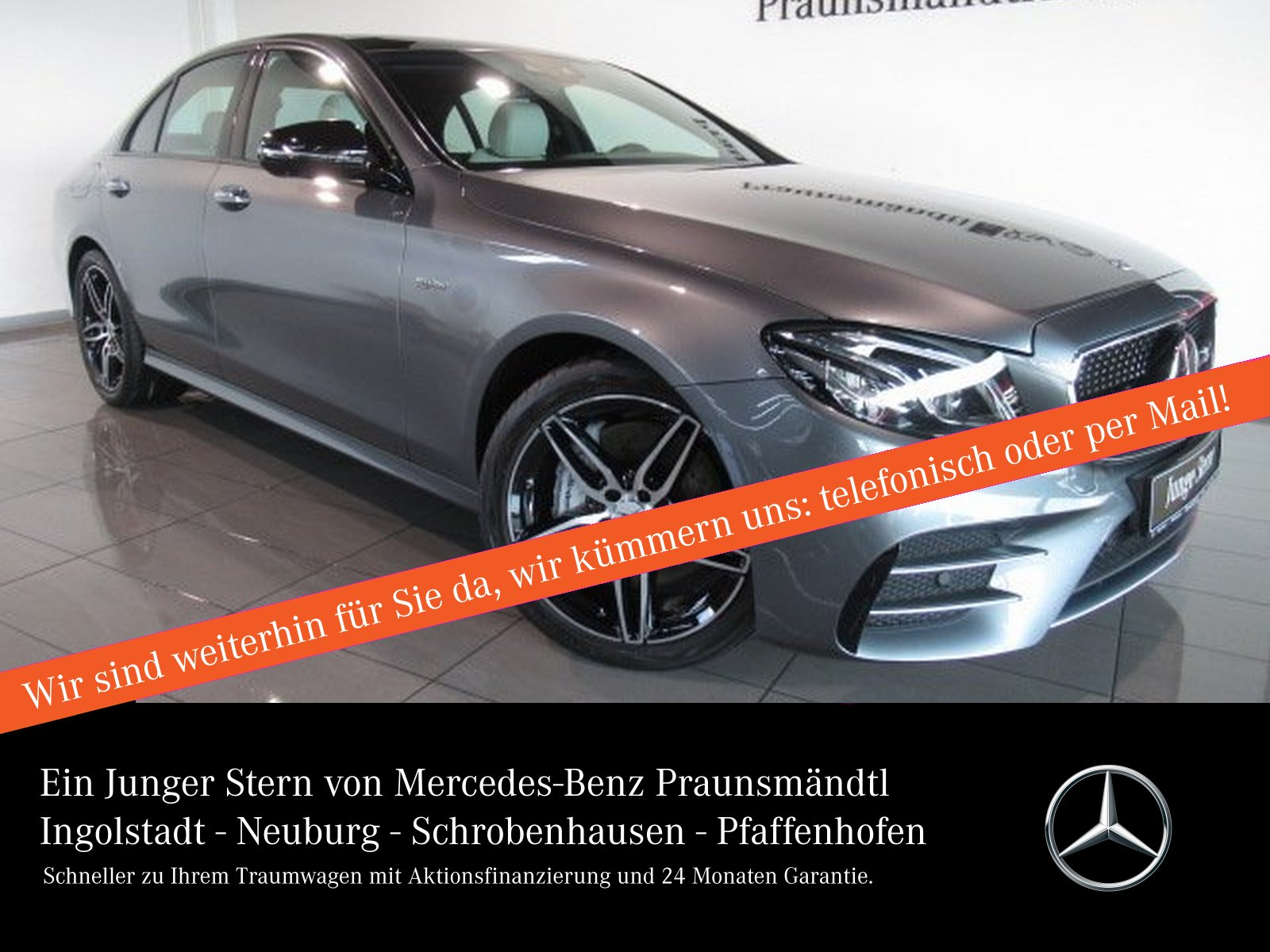 Mercedes-Benz E 43 AMG 4M Distronic/Comand/Panorama/360/Widesc, Jahr 2016, Benzin