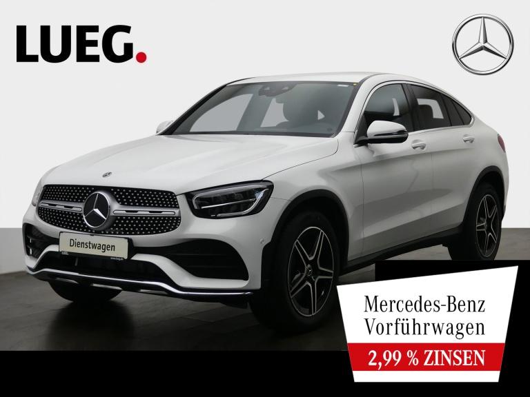 Mercedes-Benz GLC 200 4M Coupé AMG+19''+AHK+MBUX-REAL.+KAMER, Jahr 2020, Benzin