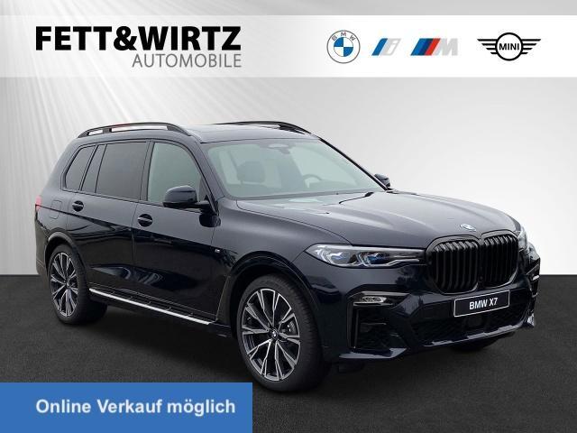 BMW X7 xDrive40d M-Sport Laser Standh Pano AHK 22''LM, Jahr 2021, Diesel